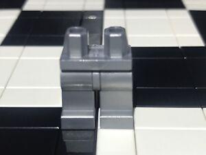 Lego Plain Flat Silver Minifigure Hip And Legs X1 / Spare Parts