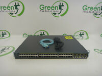 Cisco 2960G Series WS-C2960G-48TC-L 48-Port Gigabit Ethernet Switch w/ Rack Ears