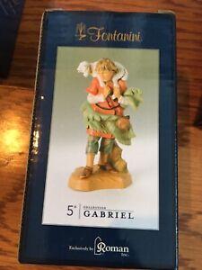 Fontanini Shepherd Gabriel With Sheep (72551) New in Box