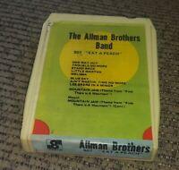 The Allman Brothers Band - Eat A Peach -  8 Track Tape cartridge album BOOTLEG?
