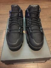 Adidas Women's Y-3 Kanja Black Blue Sz M sneakers RAF Rick Owens boost nmd shoes