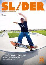 SLIDER Magazine vol.22 cover- John Cardiel / Skate Board Culture / from Japan