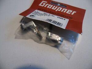 GRAUPNER 4986/6 Stub Axle Aus Pistenbully / Kyosho Blizzard