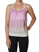 NWT Womens Prana Meadow Tank Orchid Cascade Yoga Active Wear Top Shirt Sz Medium