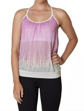 NWT Womens Prana Meadow Tank Orchid Cascade Yoga Active Wear Top Shirt Sz Small
