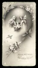 "santino-holy card ""ediz.NB n.1535 NATIVITA'"