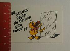 Aufkleber/Sticker: Kodak Papier für tierisch gute Fotos (1407169)