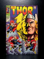 COMICS: Marvel: Thor #158 (1968), Thor's origin retold - RARE