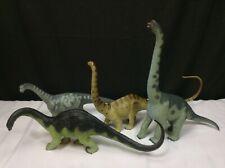 Vintage Safari Dinosaur Lot Camarasaurus Apatosaurus Diplodocus Brachiosaurus