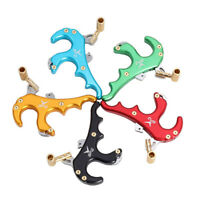 4 Finger Grip Caliper Arrow Release Aids For Compound Bow Hunting Archery Parts