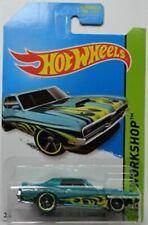 2014 Hot Wheels - HW Workshop - '69 Mercury Cougar Eliminator - Aqua - #219/250