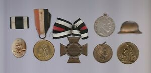 Alte Abzeichen Medaillen 1. Weltkrieg Hacketauer Frontkämpfer Ansehen Selten