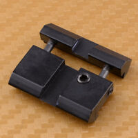 11mm Schwalbenschwanz zu 20mm Picatinny/Weaver Schiene Adapter-Paket Snap In