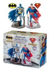 """NEW IN BOX DC Comics Justice League - Batman & Superman 7"""" Resin Bookend Set"""