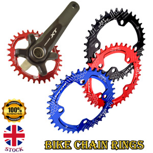New Bike Wide Narrow Round Chainring Ring BCD 104mm 32 34 36T Single Tooth Chain