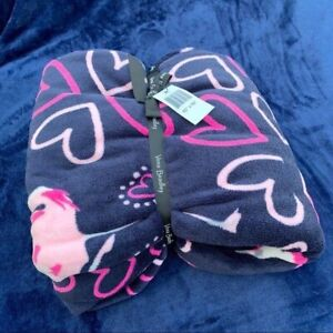 Vera Bradley Flirty Flamingos Throw Blanket