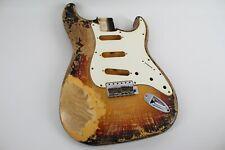 MJT Official Custom Vintage Age Nitro Guitar Body Mark Jenny VTS Burst 3lbs 0oz