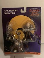 "1998 JUN Planning The Nightmare Before Christmas PVC ""THE BAND"" PVC Figures NEW"