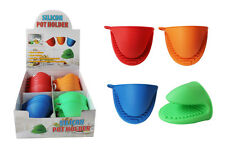 "1pc Silicone Oven Mitt Pot Holder 4"" x 3 1/4"" Heat Resistant Kitchen Cooking"