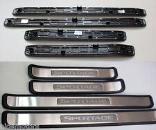 Sportage Logo Door Sill Step Scuff Plate Set 4P (Fit:KIA Sportage 2005-2010)