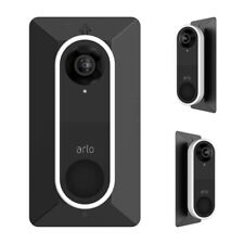 HOLACA Wall Plate for Arlo Video Doorbell with L35°/ R35 ° Angle Wedge Mount