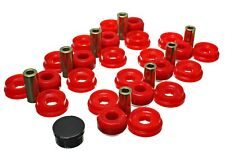 Energy Suspension Control Arm Bushing Set Red Rear for 03-09 4Runner # 8.3129R