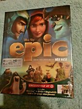 EPIC Blu-ray+DVD+Digital Copy Target Exclusive 24-Page Rare Digibook New &Sealed