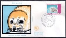 MONACO FDC - 815 1 - PROTECTION DES BEBES PHOQUES - 16 Mars 1970 - LUXE