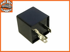 Upgrade 12v 3 Pin ELECTRONIC Flasher Relay Ideal For Classic Cars