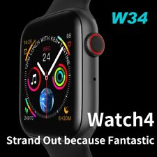 W34 Bluetooth Smartwatch 4th Series 44MM Heartrate Monitor for iPhone Huawei