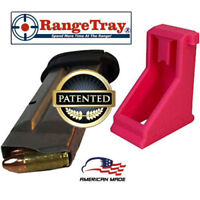 RangeTray Magazine Loader SpeedLoader for S&W M&P Shield 9mm & 40 cal HOT PINK