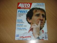 Auto hebdo N°1475 Dodge RAM SRT-10.Alain Prost