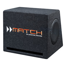 """Match by Audiotec Fischer. Twin 6.5"""" Compact Vented Subwoofer Enclosure PP7E-D"""
