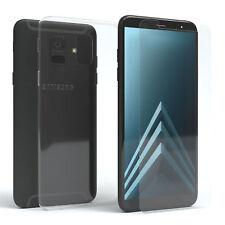 Schutzhülle + Schutzglas f. Samsung Galaxy A6 (2018) Panzer Cover