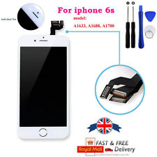 """White For iPhone6S 4.7"""" LCD Display Touch Screen Digitizer with Camera & speaker"""