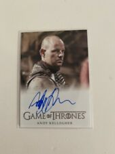 Game of Thrones Season 8 Autograph Card signed by Andy Kellegher