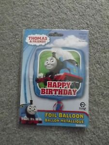 THOMAS THE TANK ENGINE  HAPPY BIRTHDAY FOIL BALLOON  17 in 43 cm  PARTY