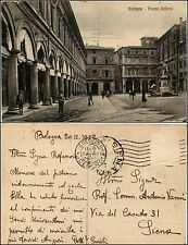 Bologna, piazza Galvani, animata, viaggiata 1922