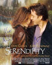 Reprint 8x10 Signed Autographed Photo Kate Beckinsale & John Cusack Serendipity