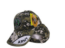 33cf527a4d9 US Army Seal Emblem ACU Camo Camouflage Green Embroidered Shadow Ball Hat  Cap
