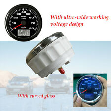 Car Boat 8 Color Digital Backlight 8K RPM Tachometer With Hourmeter Row insert