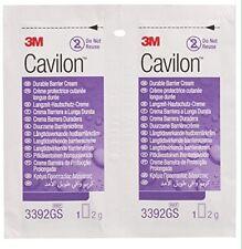 3M Cavilon 3392GS Durable Barrier Cream 2g Sachets X 20 individual sterile packs