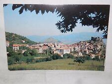 Vecchia foto cartolina d epoca di Sicignano Degli Alburni panorama veduta scorci