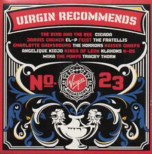 "KAISER CHIEFS / JARVIS COCKER / MIKA / KIDJO ""VIRGIN RECOMMENDS 23"" CD - SEALED!"