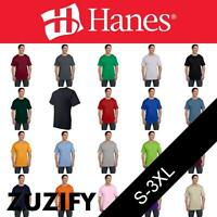 Hanes Beefy-T T-Shirt with Pocket. 5190