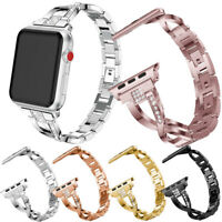 For Apple Watch iWatch Series 4 3 2 1 Stainless Steel Strap Band 44 - 38mm New
