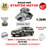 FOR BMW 3 SERIES TOURING ESTATE 335 i xDrive STARTER MOTOR 2012-ON NEW 1.3kW