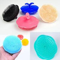 Women Men Scalp Shampoo Shower Washing Hair Massage Massager Brush Comb Random