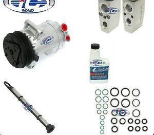 A/C Compressor Kit Fits Chevy Cobalt HHR Pontiac G5 Pursuit Saturn OEM CVC 67275