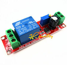 12V Delay Adjustable Timer Relay Switch Module 0-10 Second NE555 Oscillator